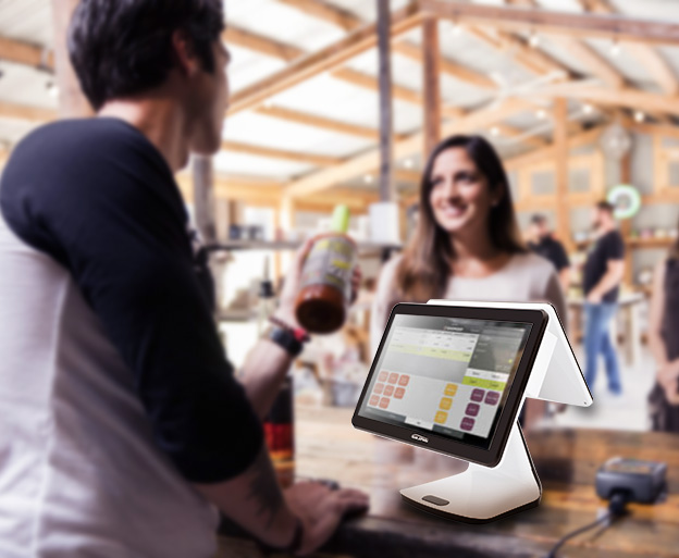 capacitive touch screen pos system