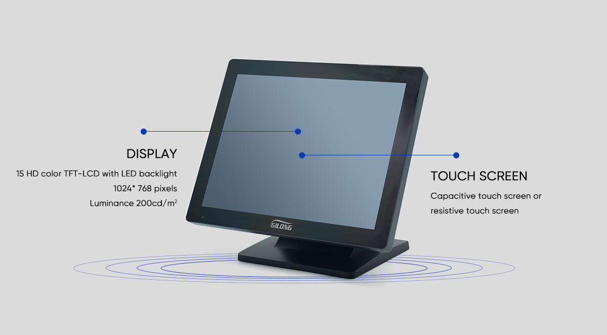 touch screen till system